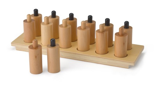 druckzylinder mit tablett montessori material sinnesmaterial. Black Bedroom Furniture Sets. Home Design Ideas