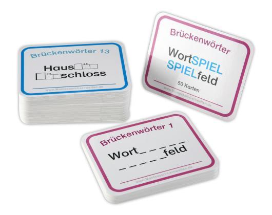 50 Brückenwörterkarten