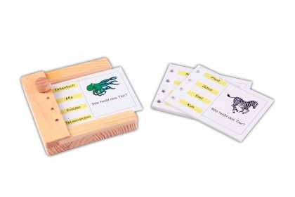 Tiere - Einschubkarten für den Stöpselkasten