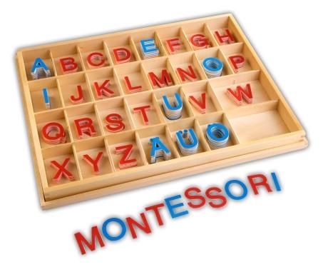 Beweglisches Alphabet - Großbuchstaben