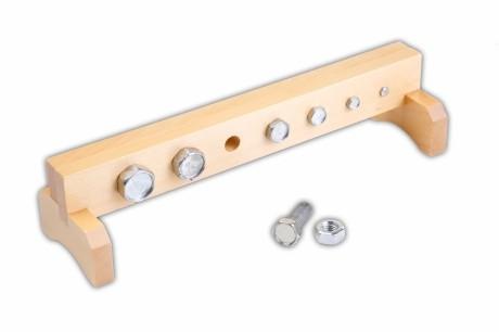 Profilo per bulloni: materiale Montessori