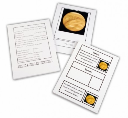 Planeten unseres Sonnensystems | Montessori Lernwelten - Der Shop ...
