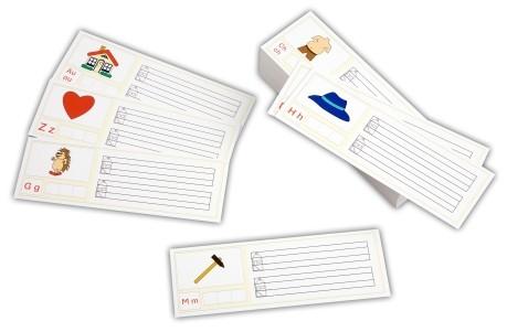 Laut-Schreib-Karten, 100 Stück