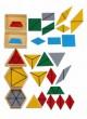 Konstruktive Dreiecke, 5 Kästen