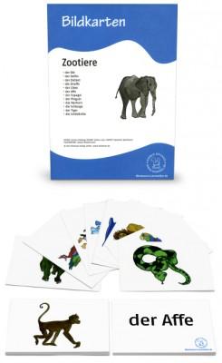 Bildkarte Zootiere