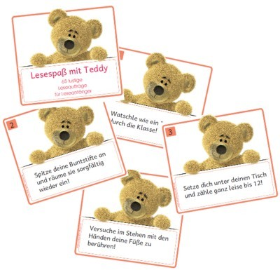 Lesespaß mit Teddy