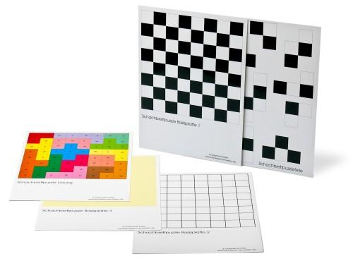Schachbrettpuzzle