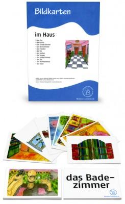 12 Bildkarten Im Haus
