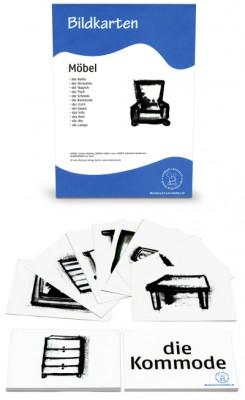 12 Bildkarten Möbel