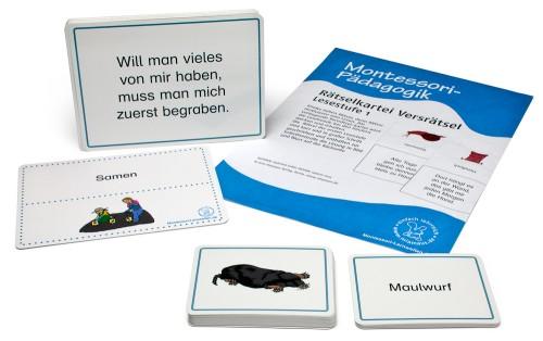 Montessori Rätselkartei 1