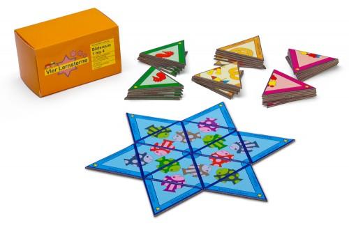 Quattro stelle didattiche. Quiz illustrato: 1 - 4