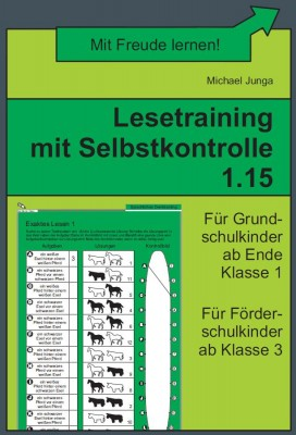 Lesetraining mit Selbstkontrolle 1.15 (DOWNLOAD)