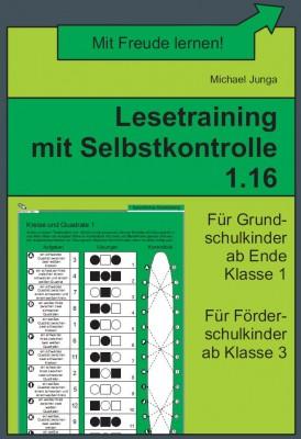 Lesetraining mit Selbstkontrolle 1.16 (DOWNLOAD)
