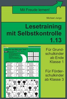 Lesetraining mit Selbstkontrolle 1.13 (DOWNLOAD)