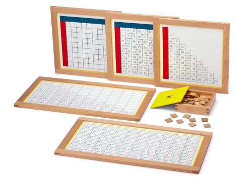 Multiplikationstabellen   Montessori Lernwelten - Der Shop für ...