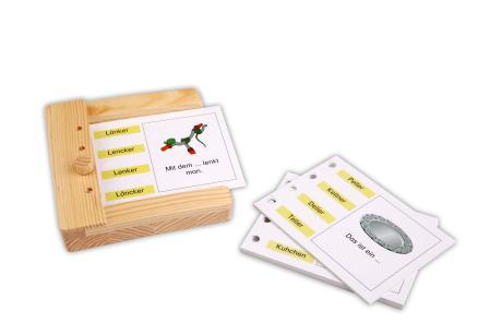Rechtschreibung - Einschubkarten für den Stöpselkasten