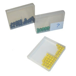 Die Schüttelbox für die Zahlenzerlegung.