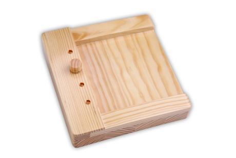 Stöpselkasten aus Holz