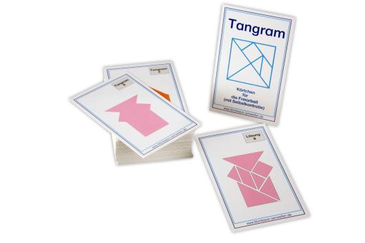 Aufgabenkarten für das Tangram